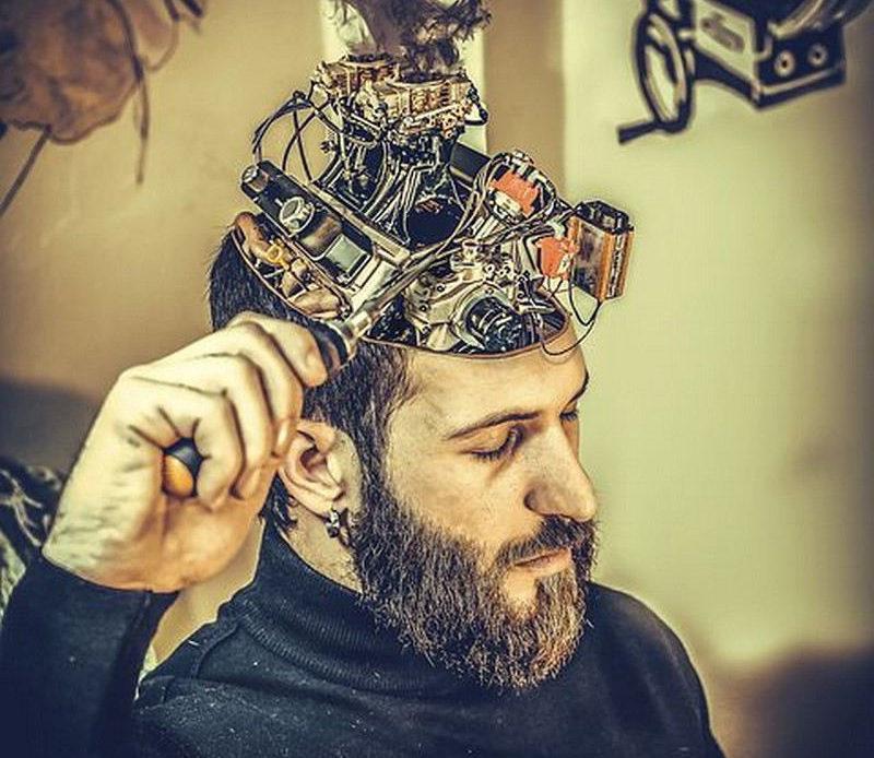 Cerveau des hommes