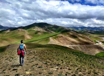 a l'aventure au Kirghizistan