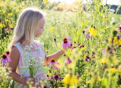 choisir une robe pour une petite fille