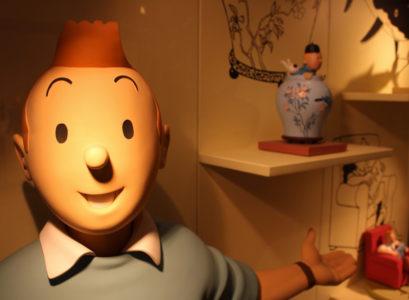 expo Tintin