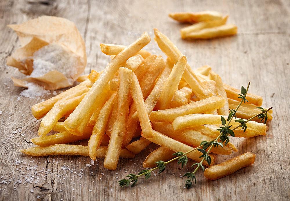 frites au restaurant