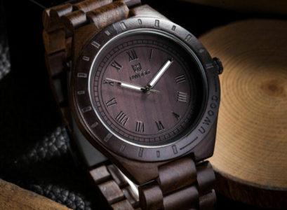 les montres en bois