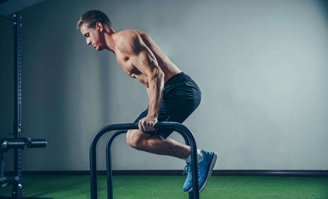 Des muscles saillants