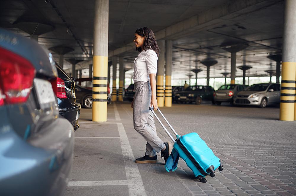 parking de l'aéroport de Genève