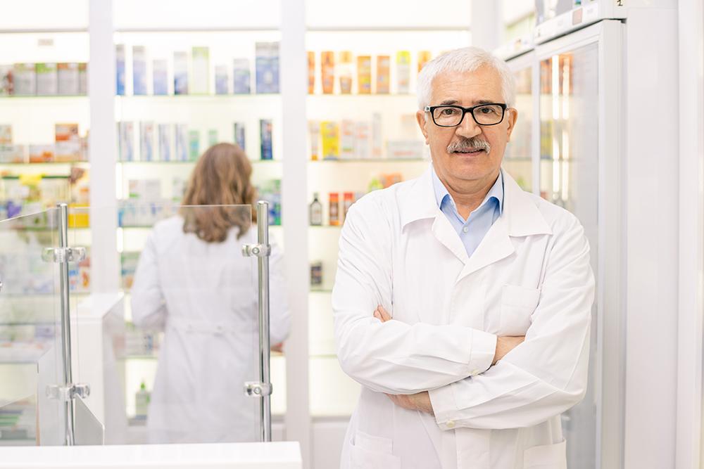 pharmacien et patient