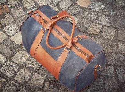 la taille de son sac de voyage