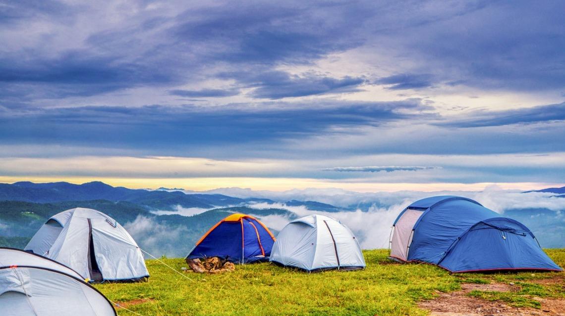 séjour en camping