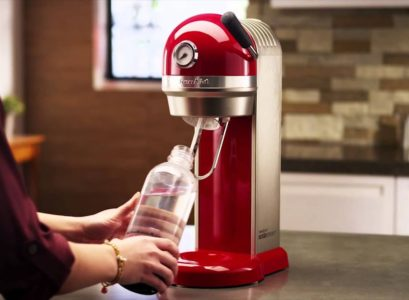 Faire ses boissons gazeuses avec Sodastream