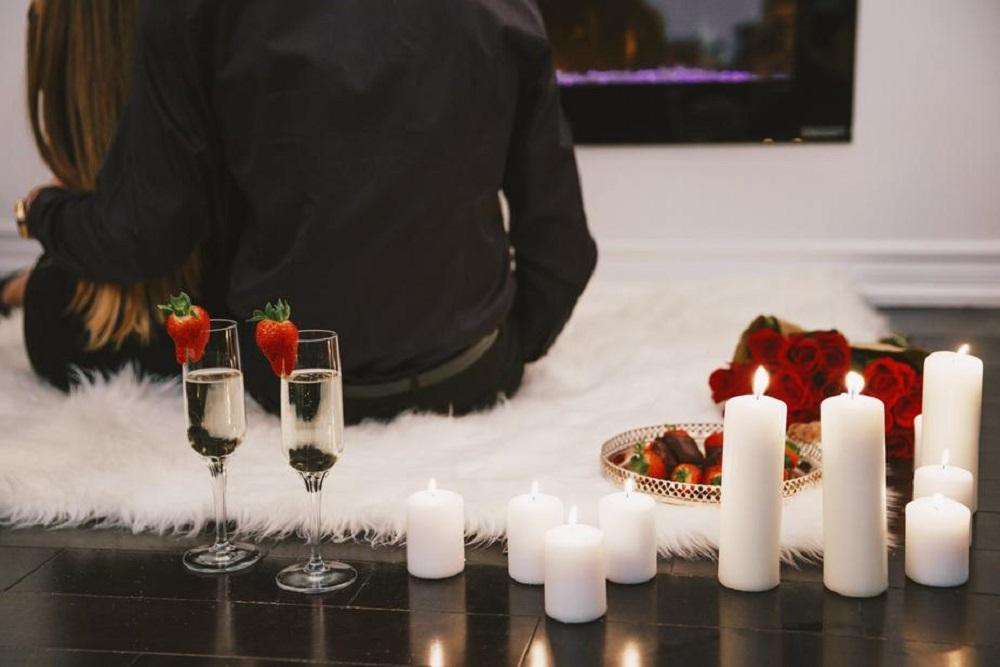 soirée romantique en couple