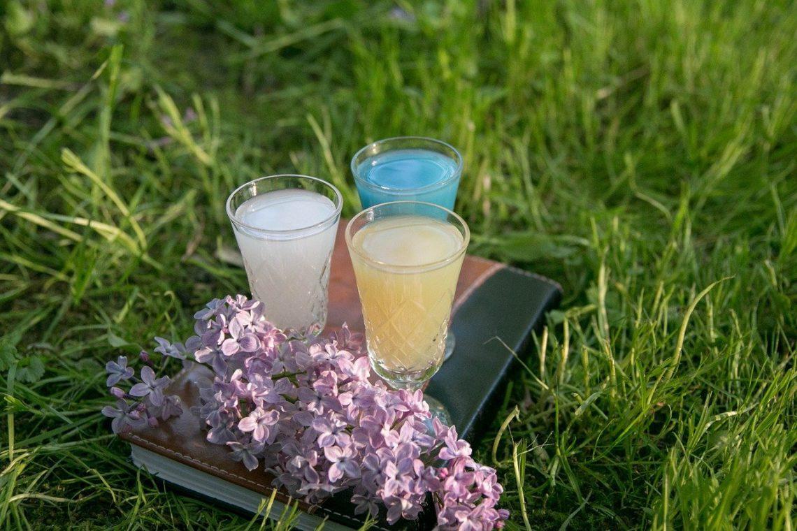 spiritueux à base de plantes d'absinthe
