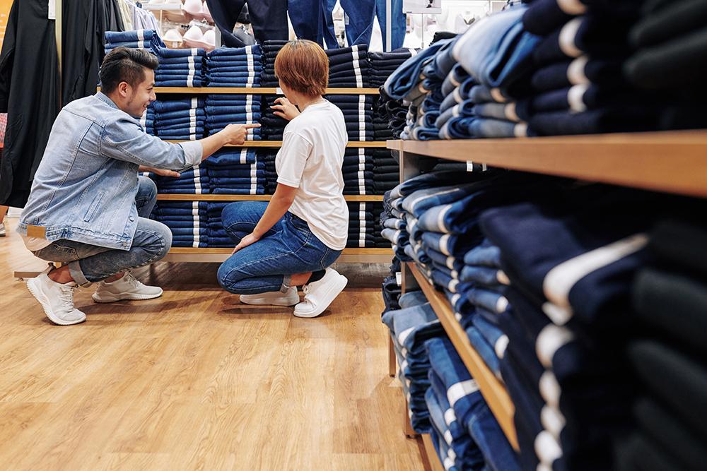 types de jeans
