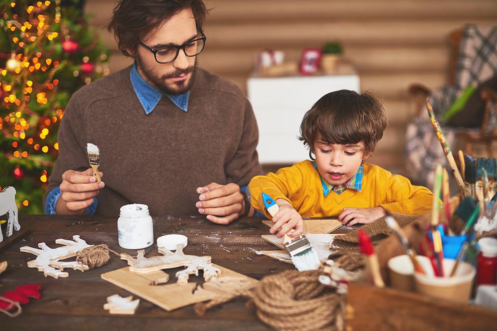 vacances de Noël avec enfants